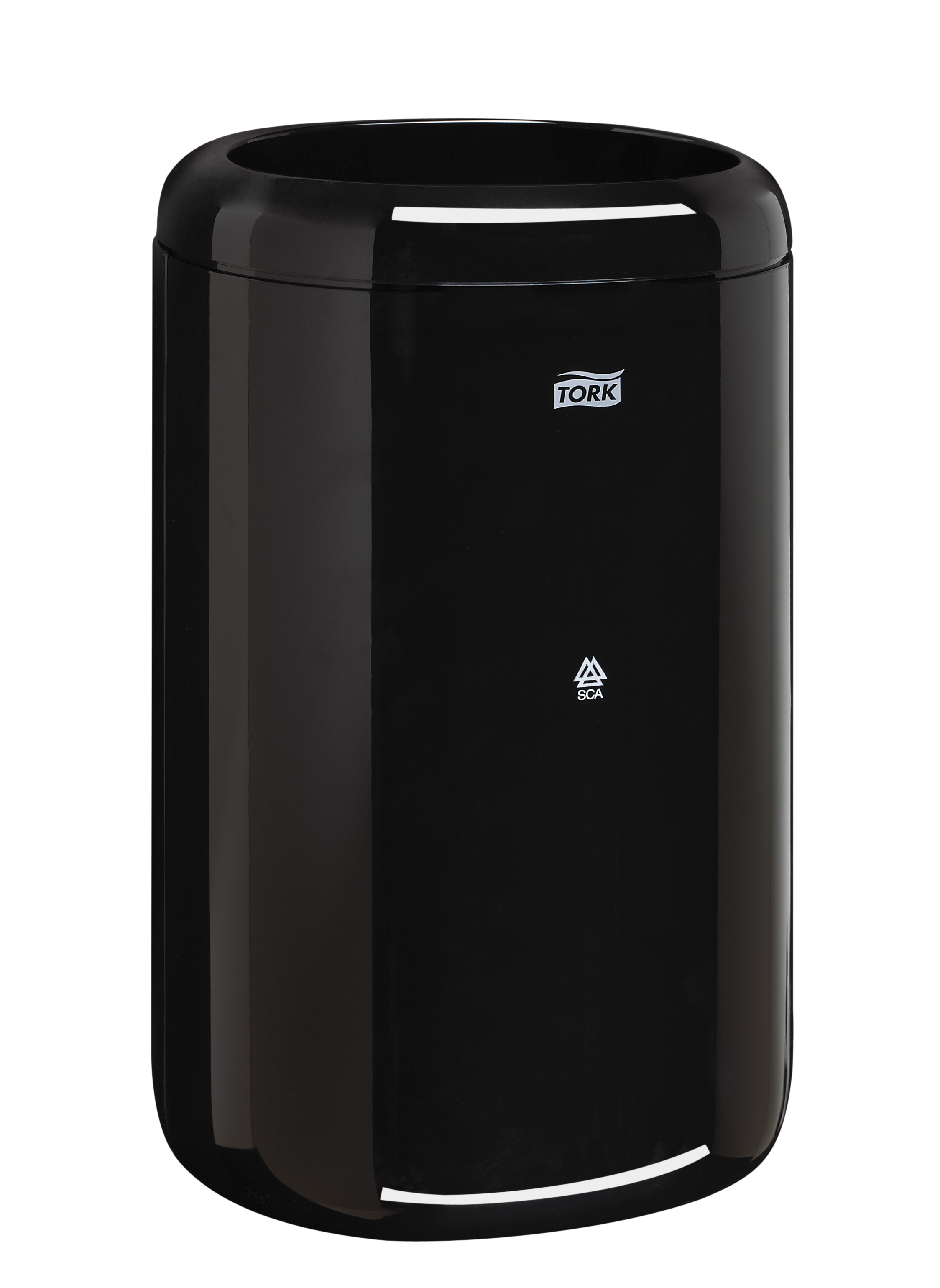 10073286624205 5640280-Tork Elevation DoorMate Waste Bin, Black