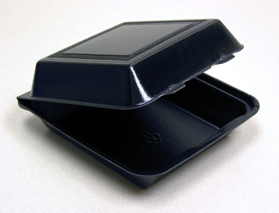"BLACK DL 8"" 1 Compartment"