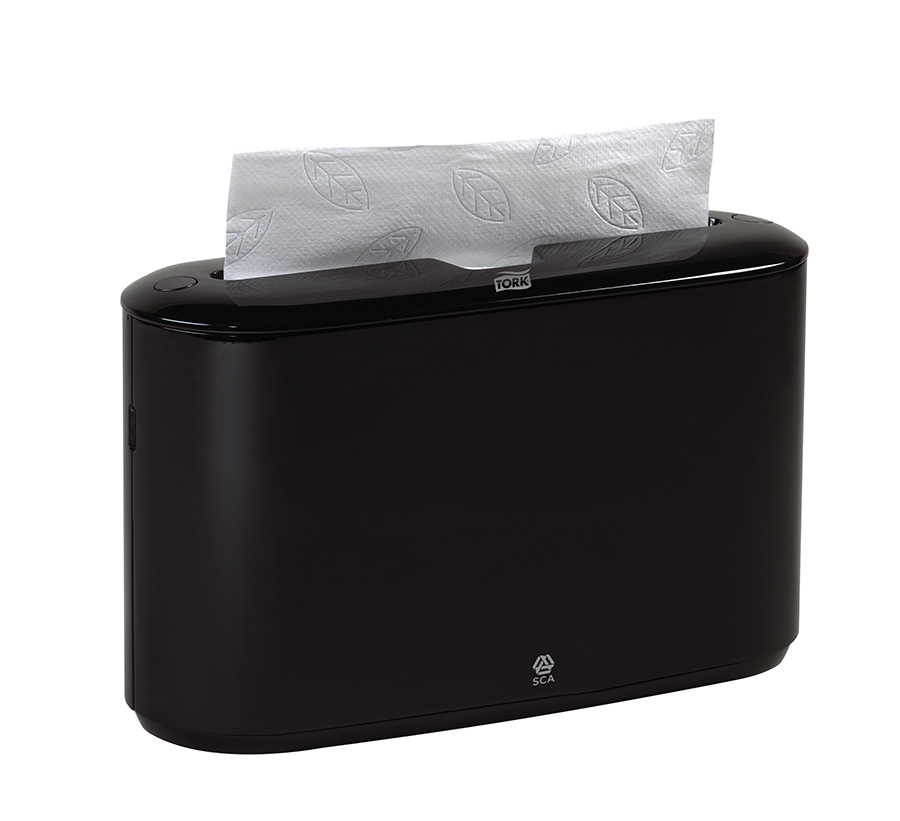 ... 302028 - Tork Xpress Countertop Multifold Hand Towel Dispenser, Black