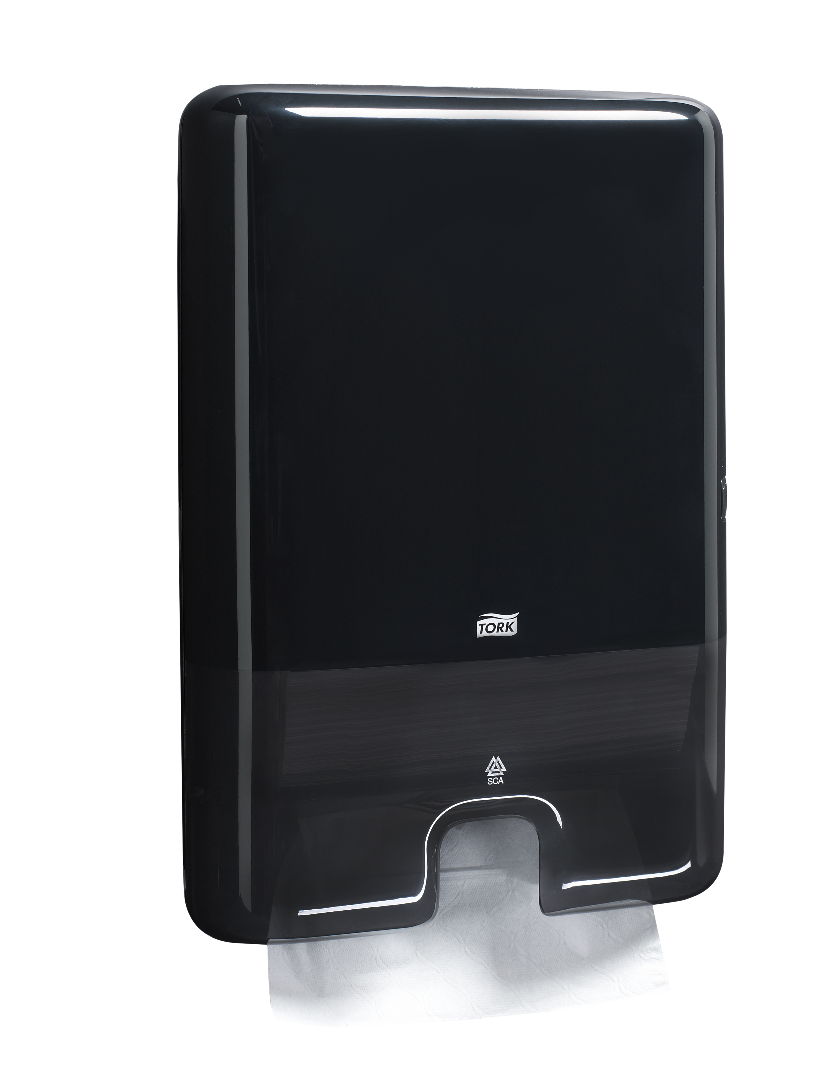 Tork Xpress Countertop Towel Dispenser : ... 552028 - Tork Elevation Xpress Hand Towel Interfold Dispenser, Black