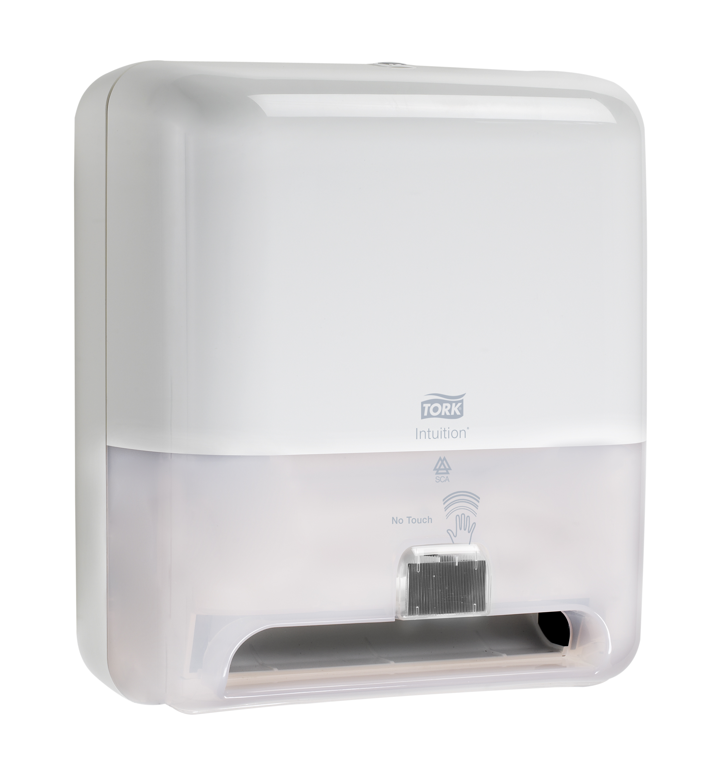 10073286624052 5511201-Tork Elevation� Intuition� Hand Towel Roll Dispenser, (Battery), White