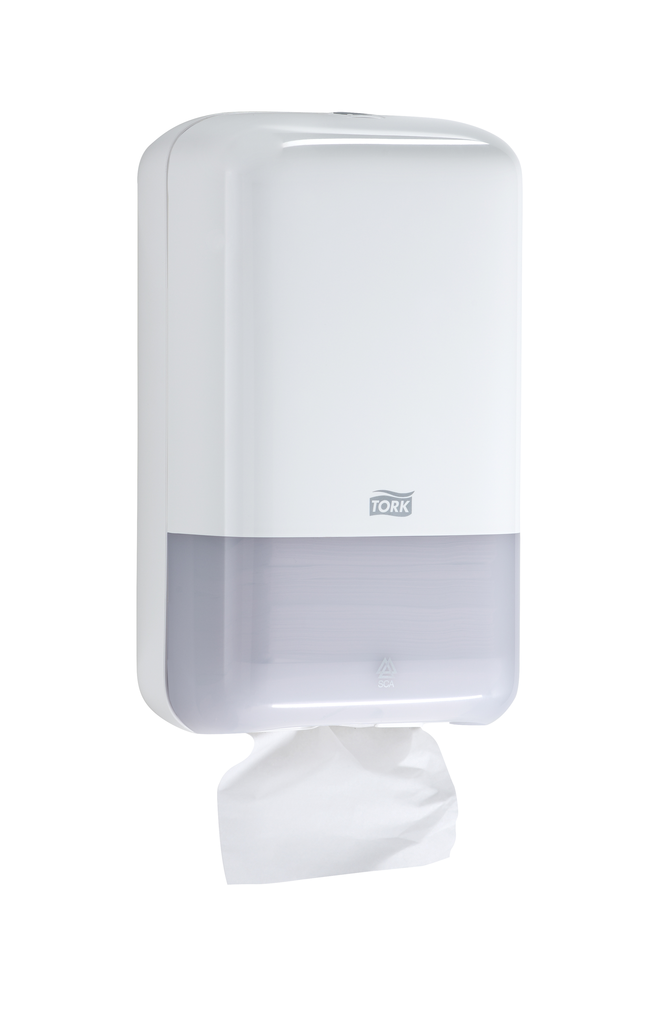 10073286623734 556020-Tork Elevation Folded Bath Tissue Dispenser, White