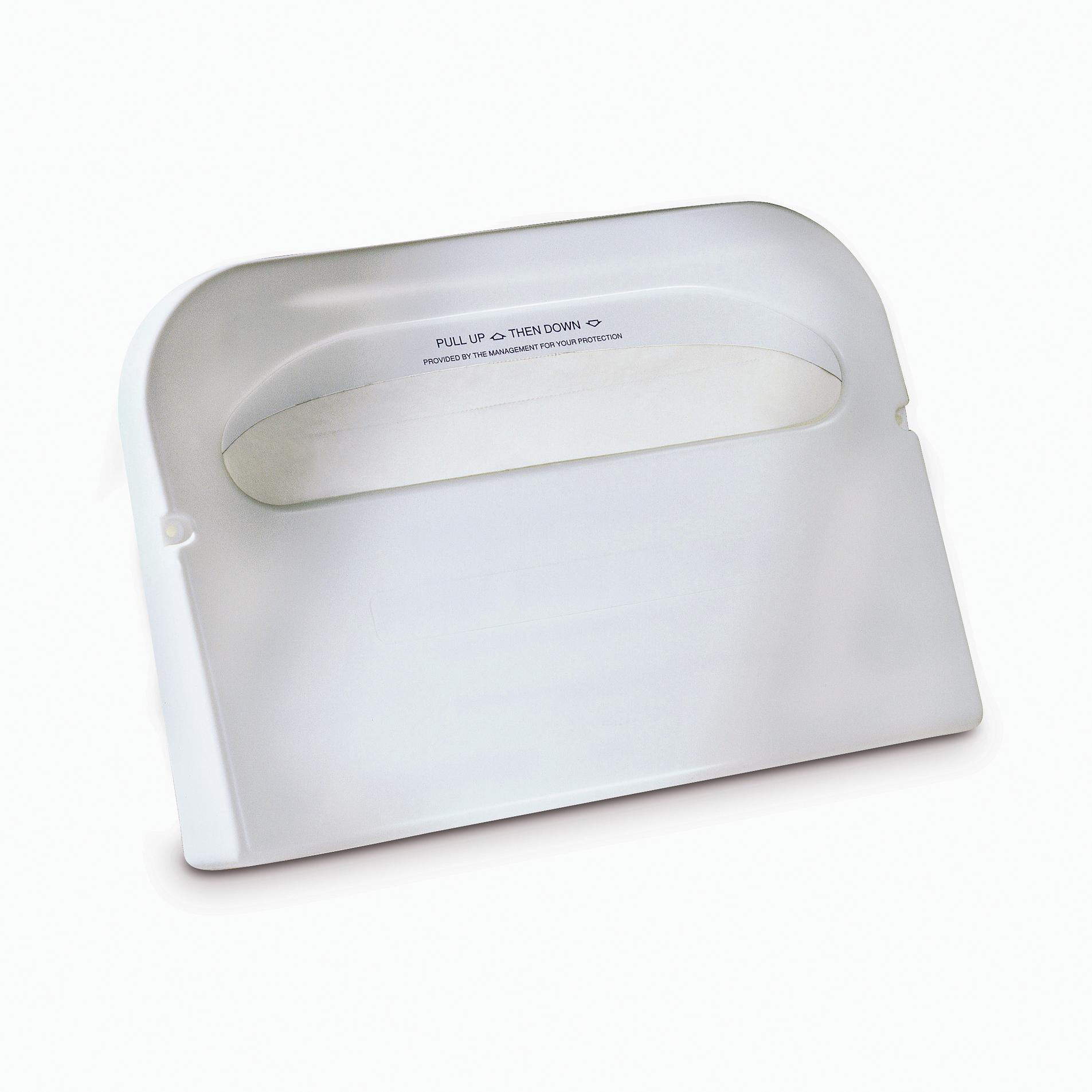 10073286612783 99A - Tork Toilet Seat Cover Dispenser, 1/2 Fold, White